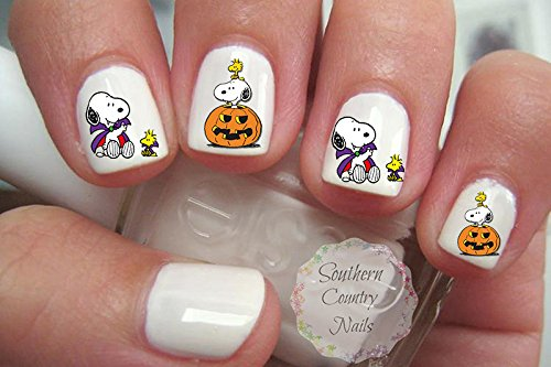Cute Halloween Design H101 Nail Art Decals -