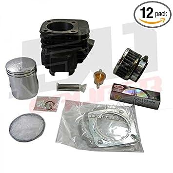 Amazon com: Top End Cylinder Rebuild Kit - Fits 2001-2006