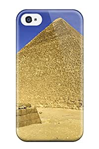 Anne C. Flores's Shop 8088936K88057529 Protective Tpu Case With Fashion Design For Iphone 4/4s (the Great Pyramid Egypt)