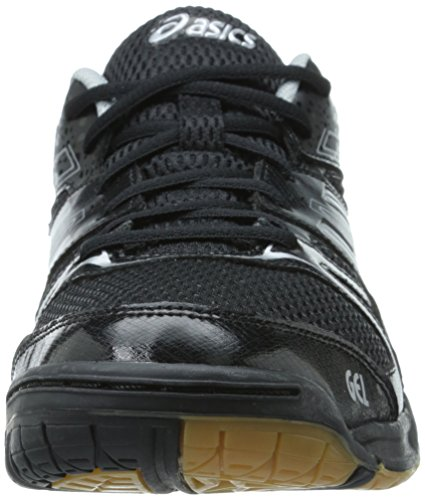 ASICS Women's Gel Rocket 7 Volley Ball Shoe Black/Silver with credit card online discount manchester great sale cBUd1cG4s