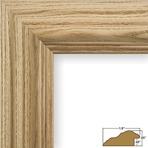 Craig Frames 78673000 24 by 36-Inch Picture Frame, Solid Wood, (24 Natural Wood)