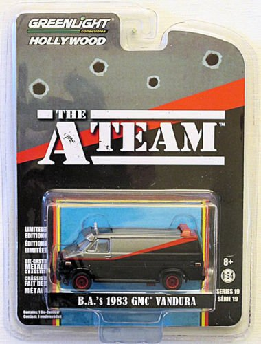 Greenlight Collectibles Hollywood Limited Edition The A Team Van B.A.'s 1983 GMC ()