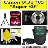 "Canon Ixus 185""Super Kit"" (Black)"