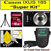 "Canon Ixus 185""Super Kit"" (Black)"