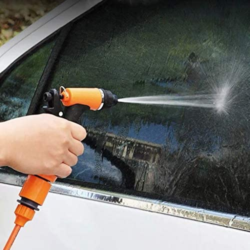 Car Wash Kit,80W 160PSI 12V High Pressure Car Washer Cleaner Water Wash Pump Sprayer Tool,Car Washing, Garden Watering, Window Cleaning, Pets Showering