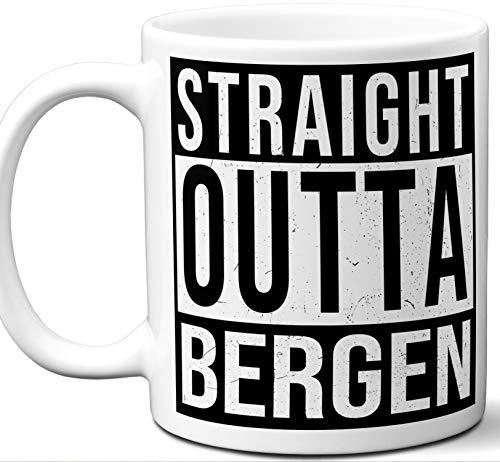 Bergen Norway Souvenir Gift Mug. Unique