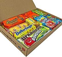 Cesta con American Candy | Caja de caramelos y Chucherias ...