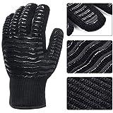 OUUO Oven Mitts Heat Resistant Gloves EN407