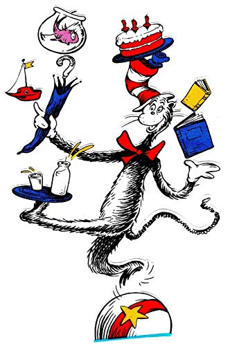 Dr. Seuss The Cat in The Hat Iron On Transfer for T-Shirts & Other Light Color Fabrics #7