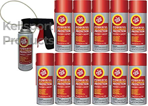 Kellsport Products Fluid Film Aerosol Spray Undercoating Kit. 3, 6, or 12 cans ()