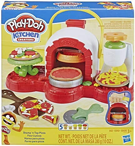Play Doh Stamp Pizza Non Toxic Colors product image