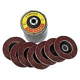 3 16 polishing grinder - 10pcs Polishing Grinding Wheel 100x3x16mm Quick Change Sanding Flap Disc Grinding Wheel For Grit Angle Grinder -Pier 27