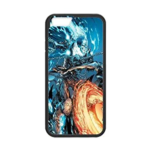 """UNI-BEE PHONE CASE For Apple Iphone 6,4.7"""" screen Cases -Ghost Rider-CASE-STYLE 11"""