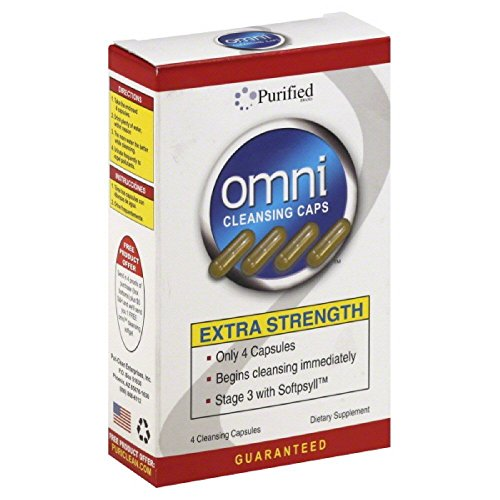 OMNI CLEANSING CAPSULES EXTRA STRENGTH 4 CAPS SOFTPSYLL PURIFIED - Vitamins Strength Omni Extra