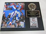 Giants Hakeem Nicks Victor Cruz Clock Plaque w/8x10 Photo and Card