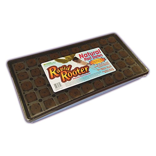 General Hydroponics Rapid Rooter Tray, 50 cell tray & plugs