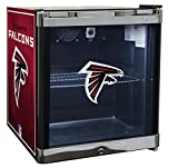 Glaros Officially Licensed NFL Beverage Center / Refrigerator - Atlanta Falcons