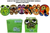 Hefty Zoo Pals Rainforest Paper Plates-20 ct, 7.375 inch (Case of 8) =160 Plates (Discontinued by Manufacturer)-Animals Can Vary