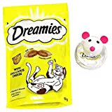 Dreamies Snacky Mouse Cat Toy Cheese 60g (PACK OF 6)