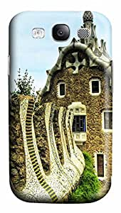 Samsung Galaxy S3 I9300 Cases & Covers - Park Guell Barcelona City PC Custom Soft Case Cover Protector for Samsung Galaxy S3 I9300