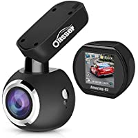 Dashcam for Cars, Oasser Car Camera Cam Dash Sony IMX323 Sensor 1920x1080P FHD Auto Camera Driving Recorder 170°with Super Night Vision G-sensor Loop Recording U2