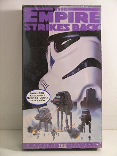 Star Wars---The Empire Strikes Back-----VHS Video Tape (Star Wars The Empire Strikes Back Vhs)