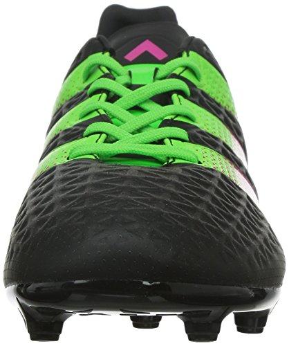 adidas Performance Herren Ace 16.3 FG / AG Fußballschuh Core Black / Solargrün / Shock Pink