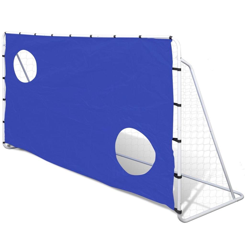 SHENGFENG Wetter Beständig Fußball Ziel Ziel Sein, Netze Ziel Wand mit 2 Scoring Zonen