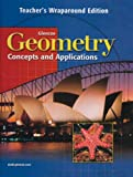 img - for Geometry Concepts and Applications Teacher's Wraparound Edition book / textbook / text book