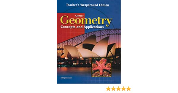 Amazon geometry concepts and applications teachers wraparound amazon geometry concepts and applications teachers wraparound edition 9780028348186 jerry cummins books fandeluxe Images