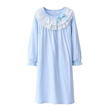 Juqilu Manches Chemises Longues De Robe Nuit 8 Ans Vêtements 3 534cqRjLA