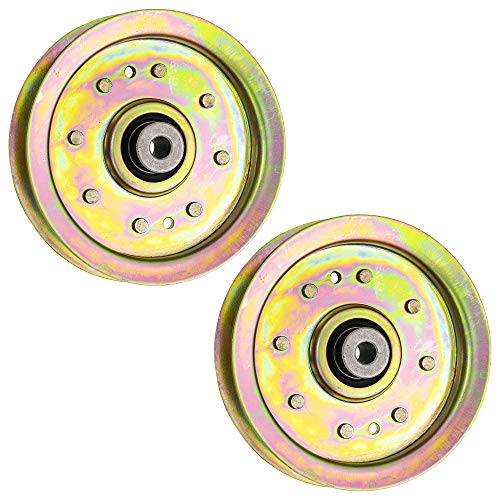 8TEN Spindle Blade Belt Pulley Kit for Cub Cadet MTD White Troy Bilt GT1554 RZT 54 GT 954 GT54 54 Inch Deck