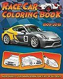 Race Car Coloring Book: 30 High Quality Race Car