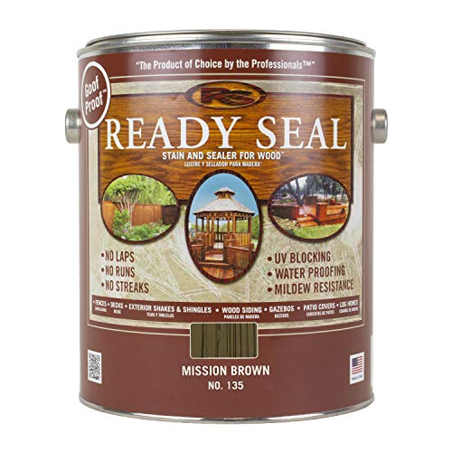 Ready Seal 135 Wood Stain, Mission Brown, 1-Gallon