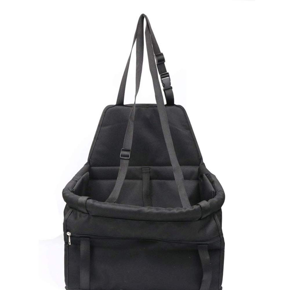 Large-Capacity Portable Dog Dining Chair Bag Folding Pet Heightening Car Safety Seat Bag Cat Travel Bag