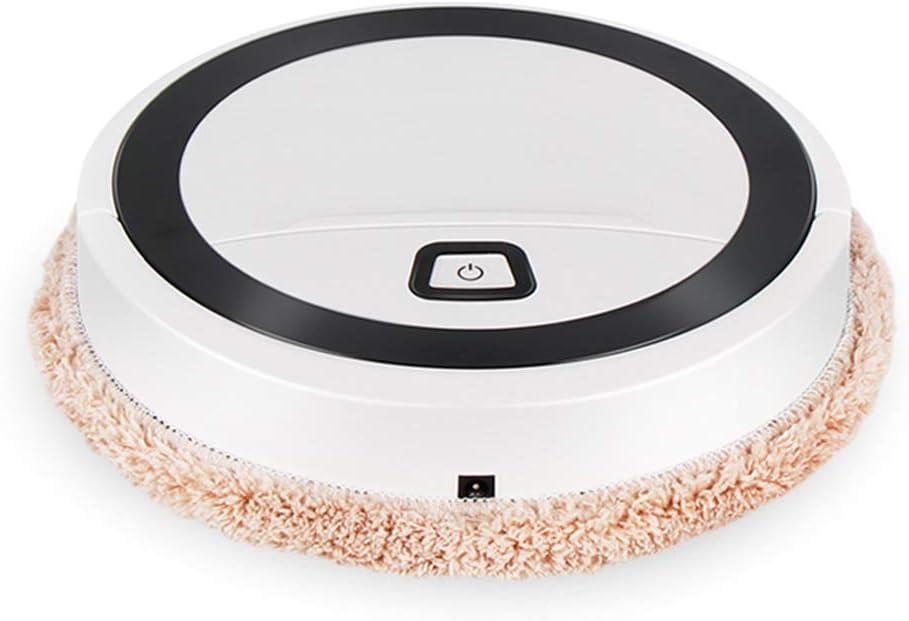 Ocobudbxw Robot de Barrido Aspirador Filtro Alergias de Pelo de Mascotas Robótico automático: Amazon.es: Hogar