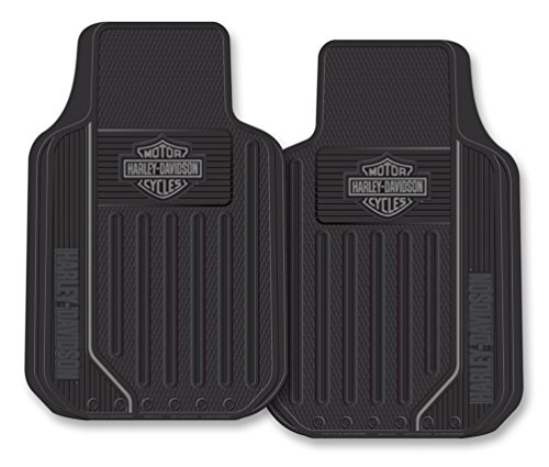 Harley-Davidson Floor Mats, Elite Series Bar & Shield Logo, Non-Carpeted, -