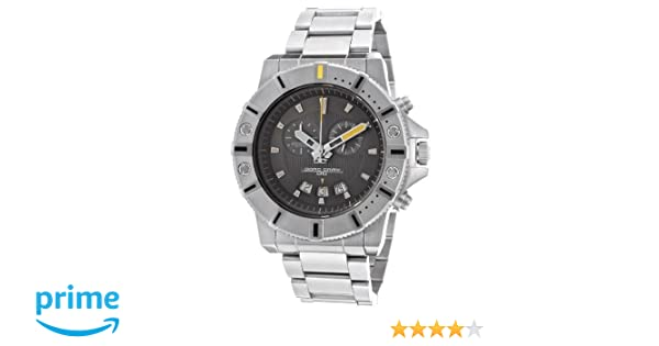 Amazon.com: Jorg Gray | Silver Stainless Steel Chronograph Watch w/Stainless Steel Band | JG9500-14 | Black Dial: Jorg Gray: Watches