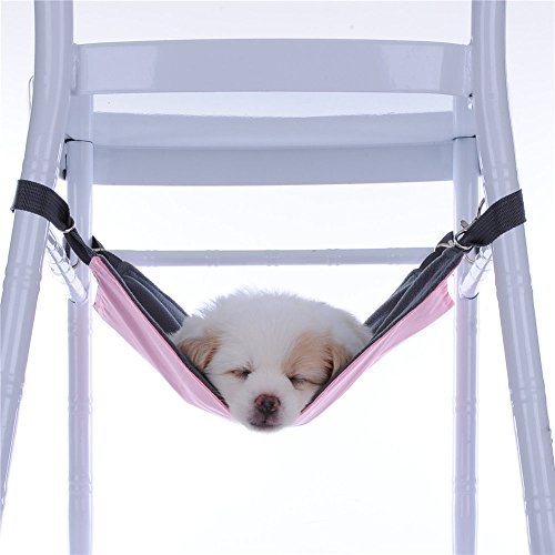 Hot Sale! Cute Pet Cat Dog Cage House Hammock Soft Bed Animal Hanging Pupply Oxford Cloth Hammock (S,