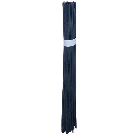 50pcs Plastic Welding Rods PP PE ABS PVC PA Nylon Welding Sticks 83Ft Length