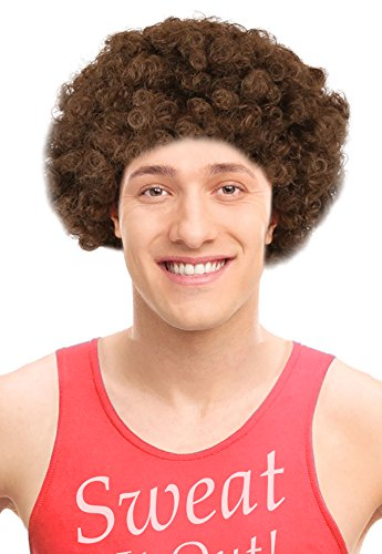 Workout Instructor Wig for Richard Simmons Wig Ideal For Richard Simmons (70s Workout Costume)