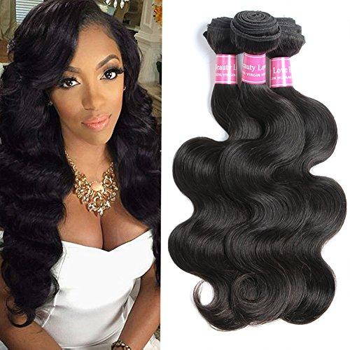 Brazilian Body Wave 3 Bundles Virgin Hair Extensions 10A Unprocessed Human Hair Weave 3pcs 12
