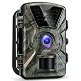 Victure Trail Game Camera 1080P Motion Activated with infrared Night Vision 2.4 inch LCD Screen PIR Sensors IP66 Spray Water Resistant Hunting Scouting Camera for Wildlife Monitoring, Surveillance, Home Security