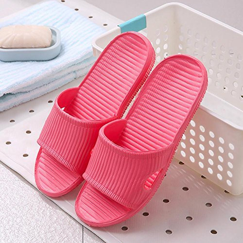 Beauty sparkler 1Pair Woman Slipper Summer Bathing Shower Flats Shoes