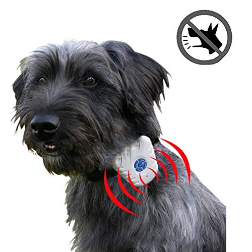 Waterproof Ultrasonic Anti-Bark Dog Collar- No Shock No Pain No Harm! Humane, Safe, Gentle and Effective Stop Barking Pet Training Collar Utilizing Latest Intelligent Ultrasonic Sound Technology
