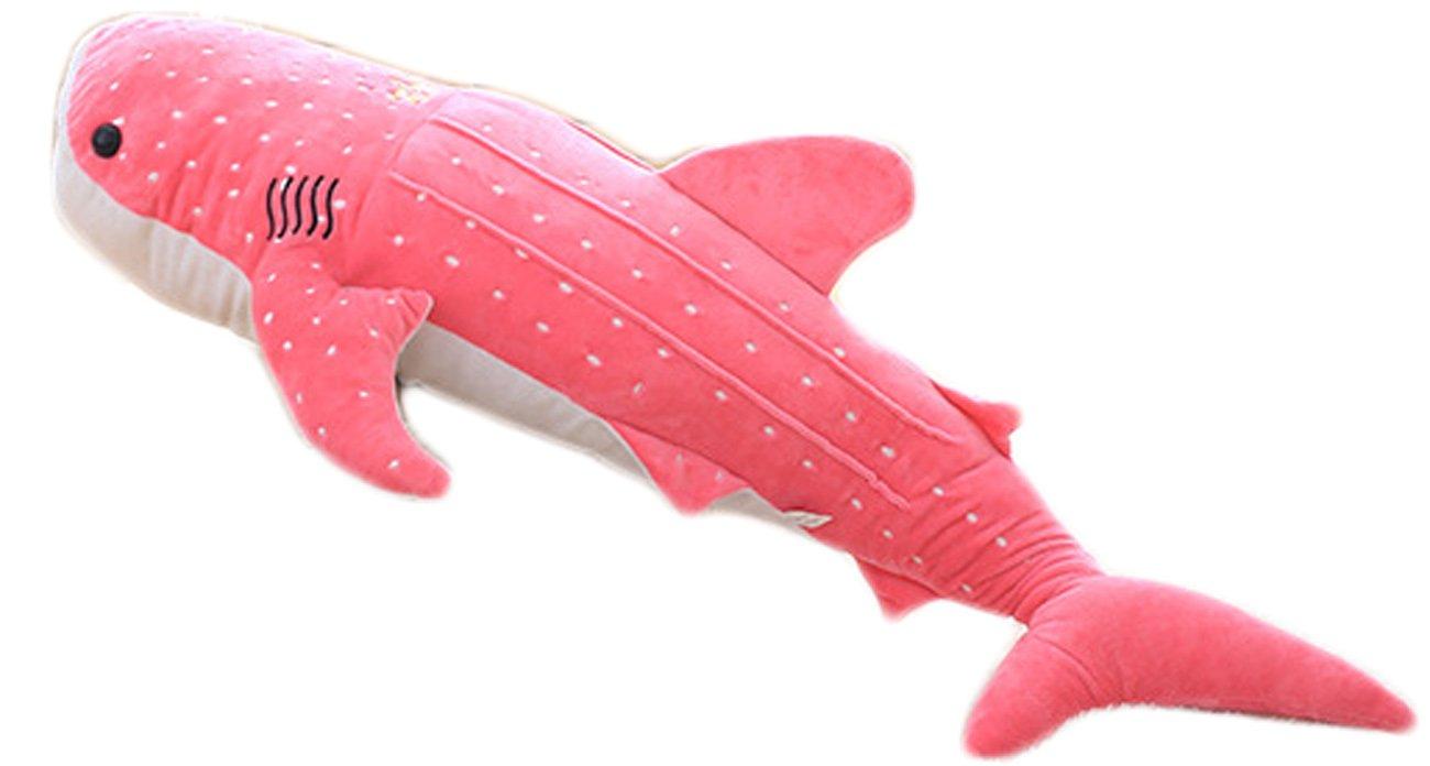 NEWZCERS Almohada creativa de la siesta de la muñeca de la felpa de la almohada del tiburón de la ballena