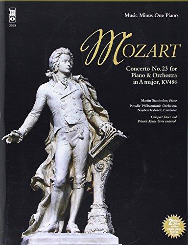 mozart 23 concerto in a major