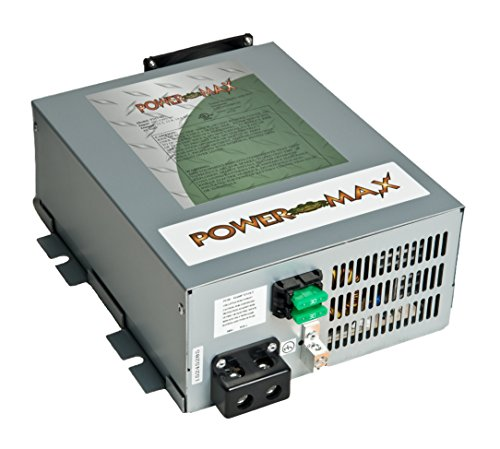 PowerMax PM4 100A 110V AC to 12V DC 100 Amp Power Converter with Built-In 4 Stage Smart Battery Charger by PowerMax