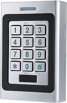 125Khz 12V RFID Security Door Reader Card Keypad Mini ID Access Controller
