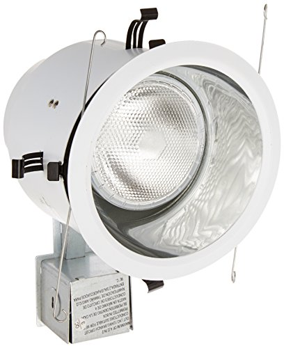 Lithonia Lighting LK5OAZ TRMW M6 Halogen Downlight Kit with Anodized Smooth Trim, 5-Inch, White by Lithonia Lighting